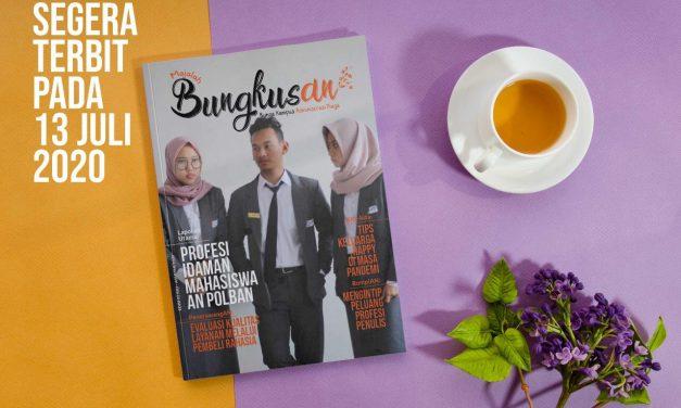 Mengintip Majalah BUNGKUSAN Edisi Kedua